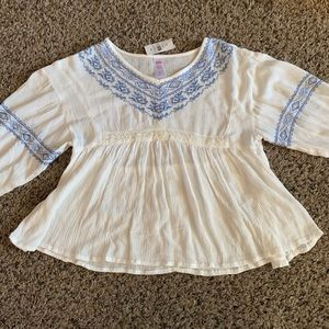 NWT Justice blouse